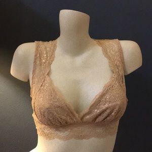 Nude Lace Bralette